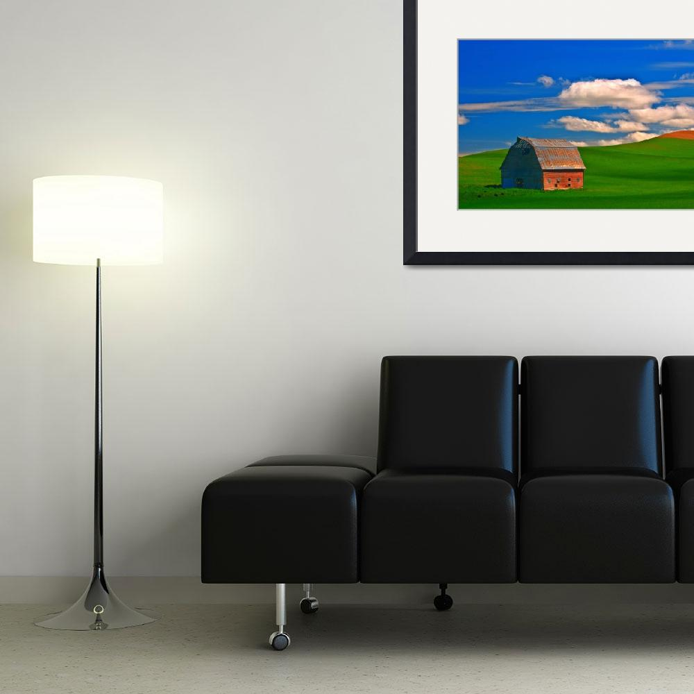 """Palouse Barn 1033&quot  (2010) by JTPatterson"