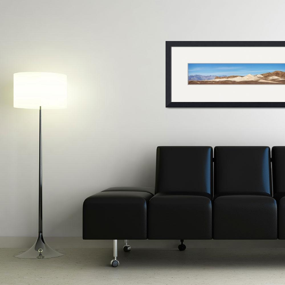 """Death Valley Mountain Panorama&quot  (2012) by miir"