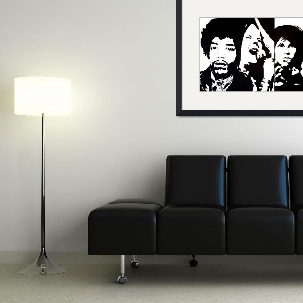 """27 Club&quot  (2007) by axemangraphics"