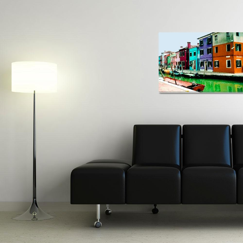 """Colors of Burano&quot  (2004) by rayjacque"
