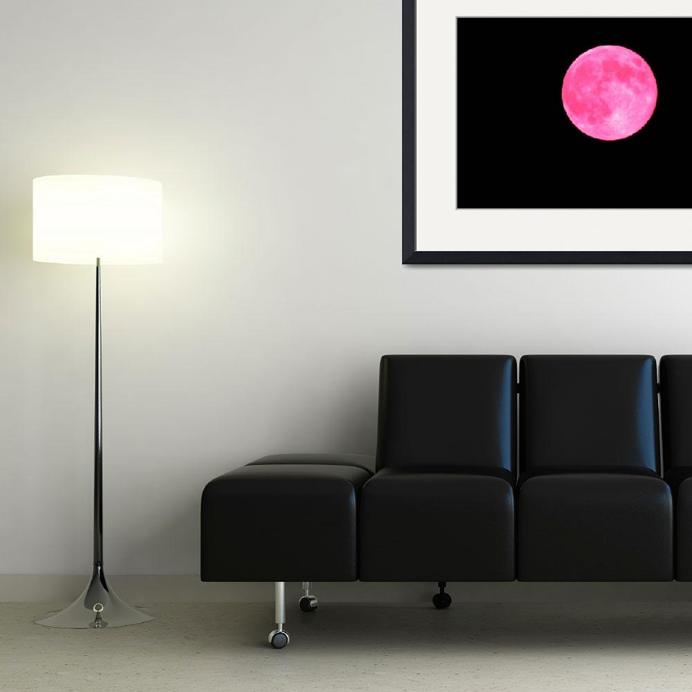 """Pink Moon&quot  (2014) by JGoodrell"
