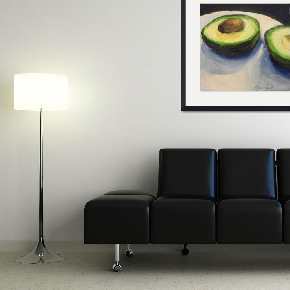 """avacado&quot  (2010) by margaret-aycock"