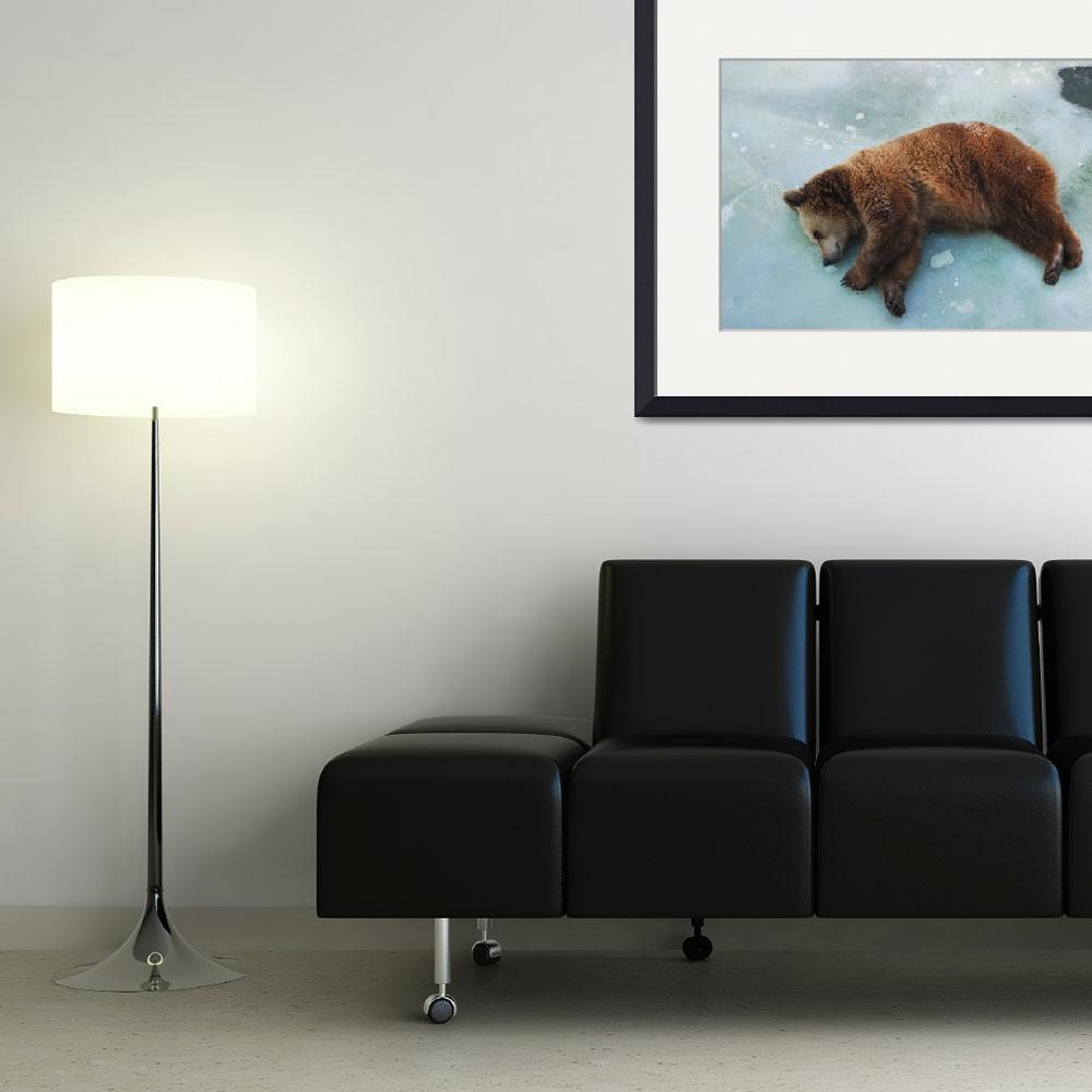 """Brown Bear&quot  (2011) by AlexanderAcostaOsorio"