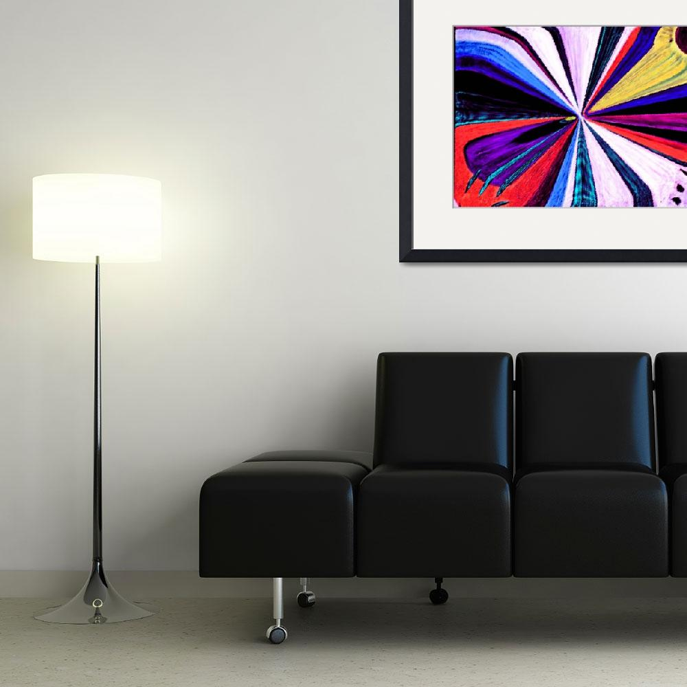 """Abstract painting&quot  (2012) by KsWorldArt"