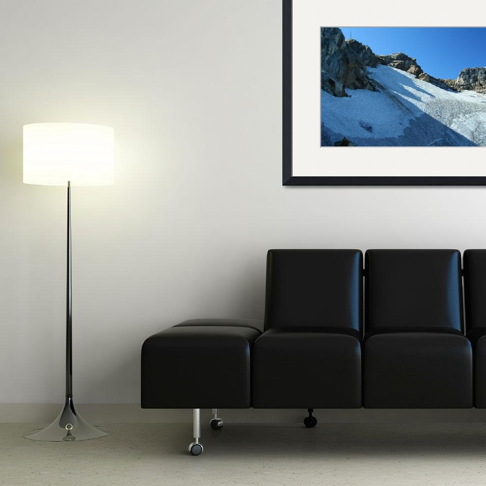 """Whistler Mountain Glacier&quot  (2009) by Whistlerphotogal"