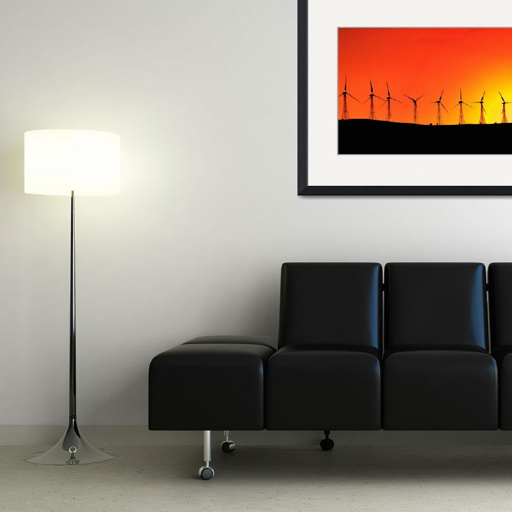 """Wind Turbines&quot  by DesignPics"