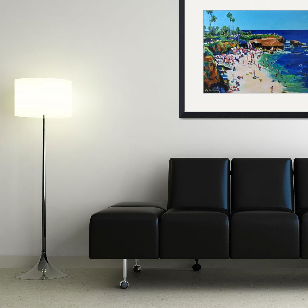 """La Jolla Cove San Diego California&quot  (2006) by BeaconArtWorksCorporation"