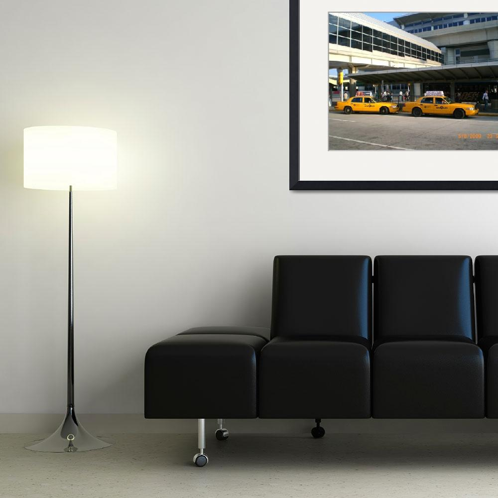 """Taxi, JFK airport&quot  (2008) by jadavision"