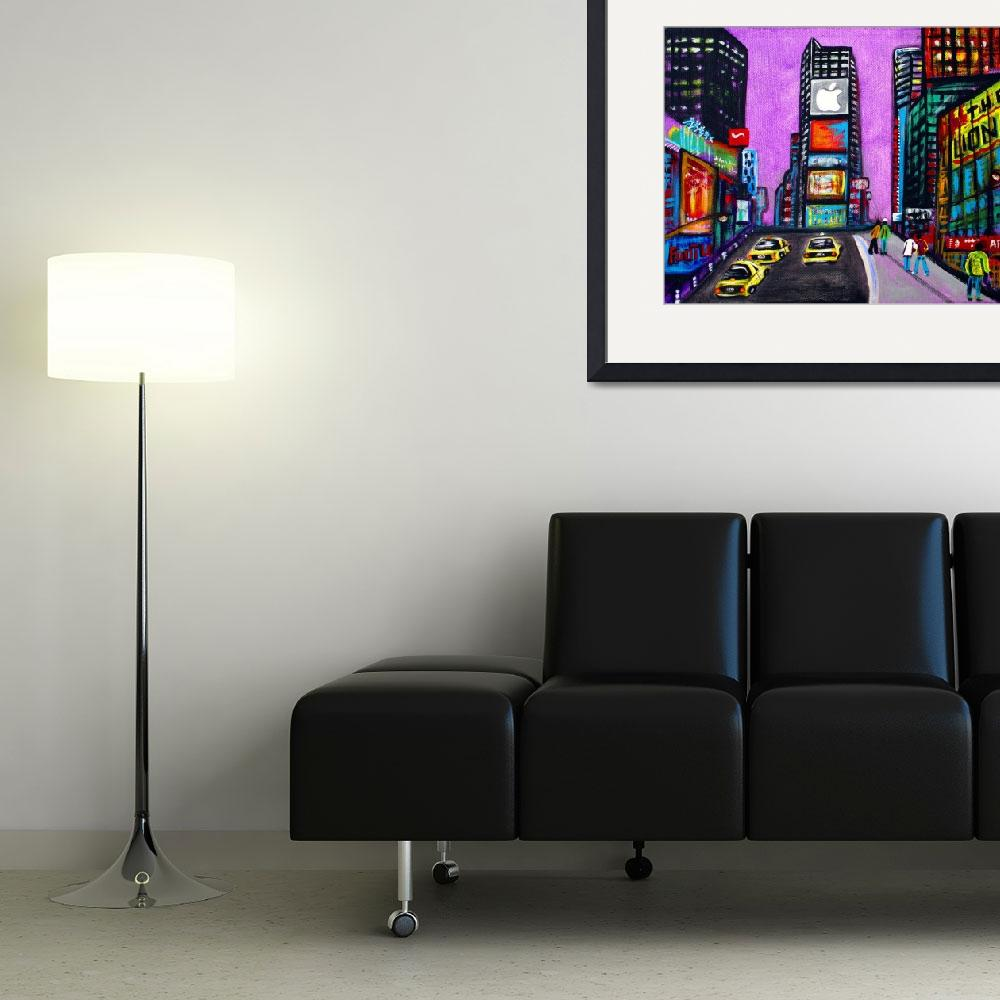 """Time Square&quot  (2009) by ArtPrints"
