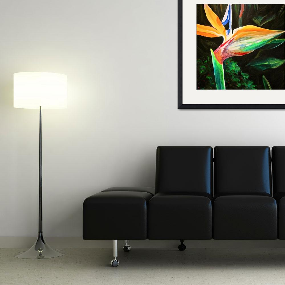 """Bird of Paradise&quot  (2010) by rebeccafoster"