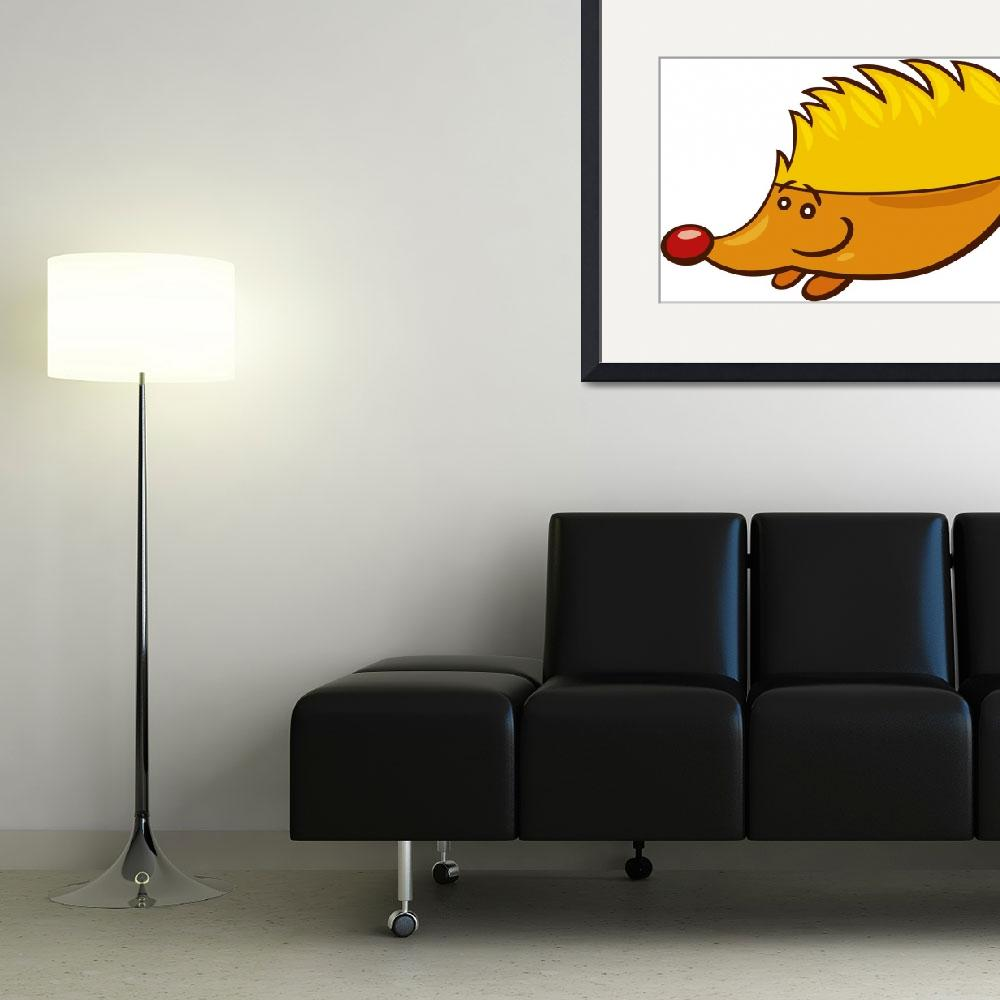"""hedgehog&quot  (2010) by cartoonfactory"