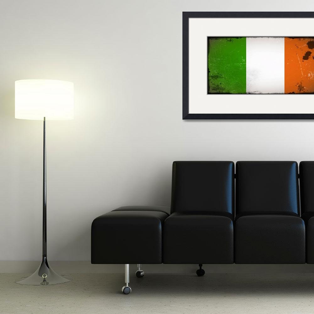 """tobias_Flag_of_Ireland_vintage&quot  by ArgosDesigns"