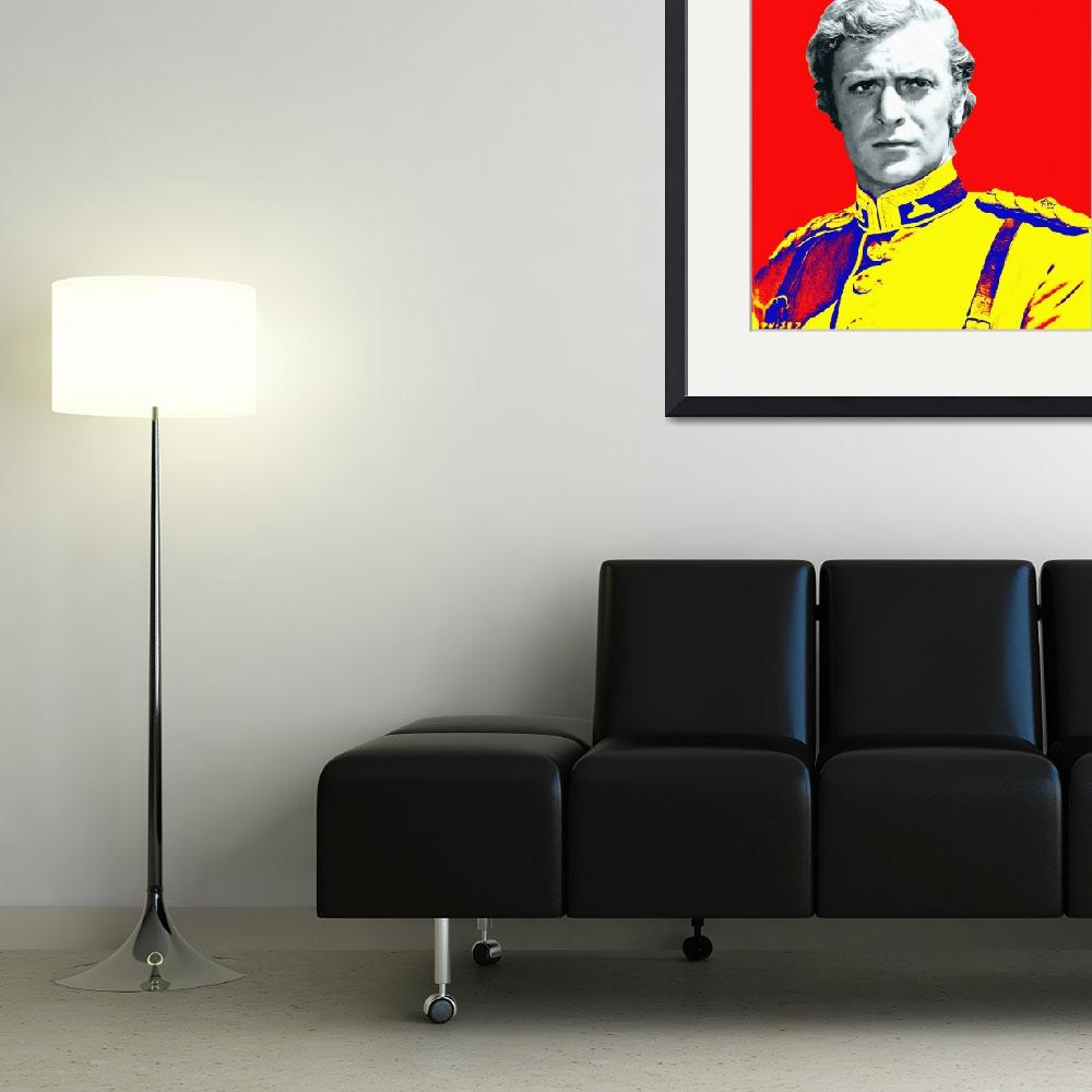 """Michael Caine in Zulu&quot  (2013) by ArtCinemaGallery"