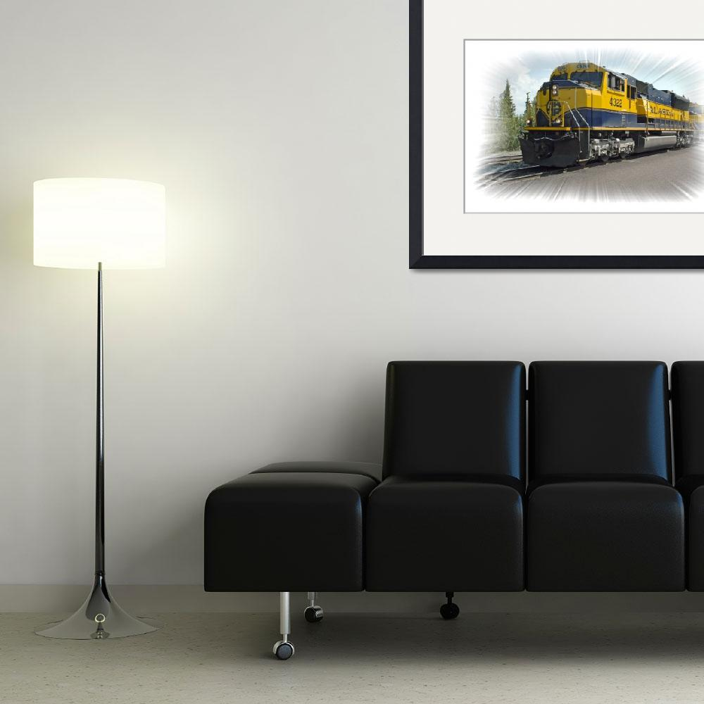 """Alaska Railroad&quot  (2007) by PaulCoco"