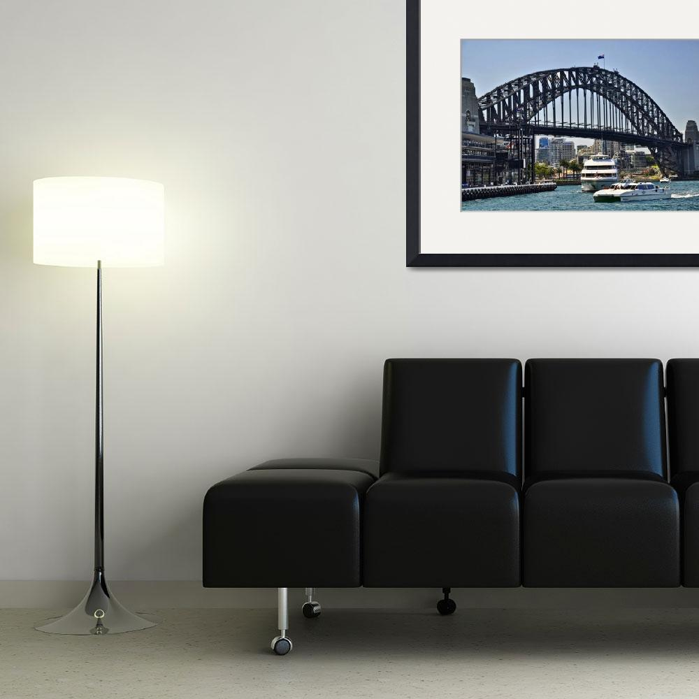 """Sydney Harbour Bridge&quot  (2010) by PaulCoco"