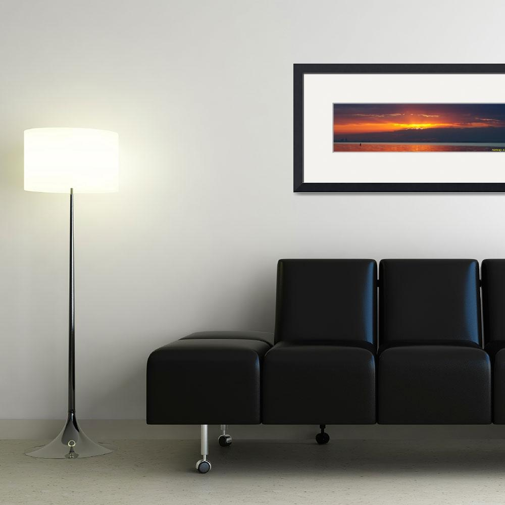 """Sunrise Panorama&quot  (2010) by RichardJZentner"