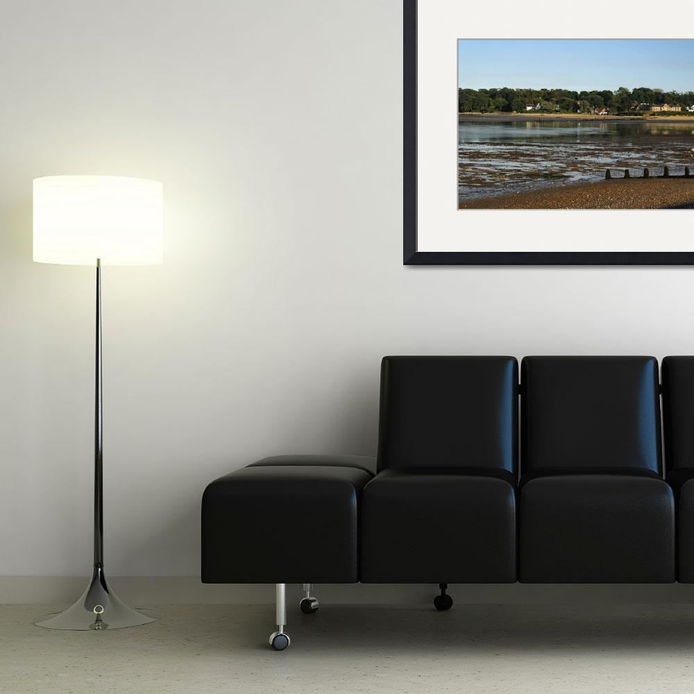 """Bembridge from St Helens At Low Tide (32221-RDA)&quot  (2012) by rodjohnson"