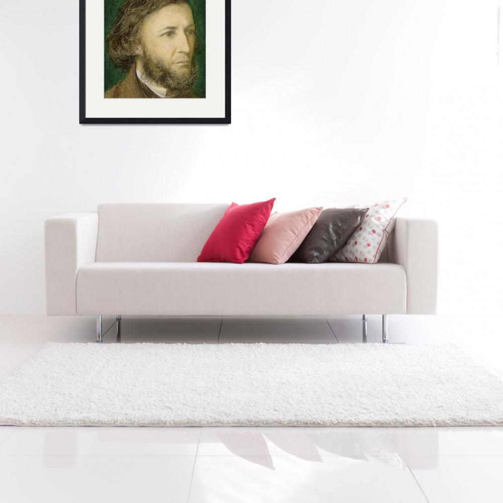 """Portrait of Robert Browning&quot  by fineartmasters"
