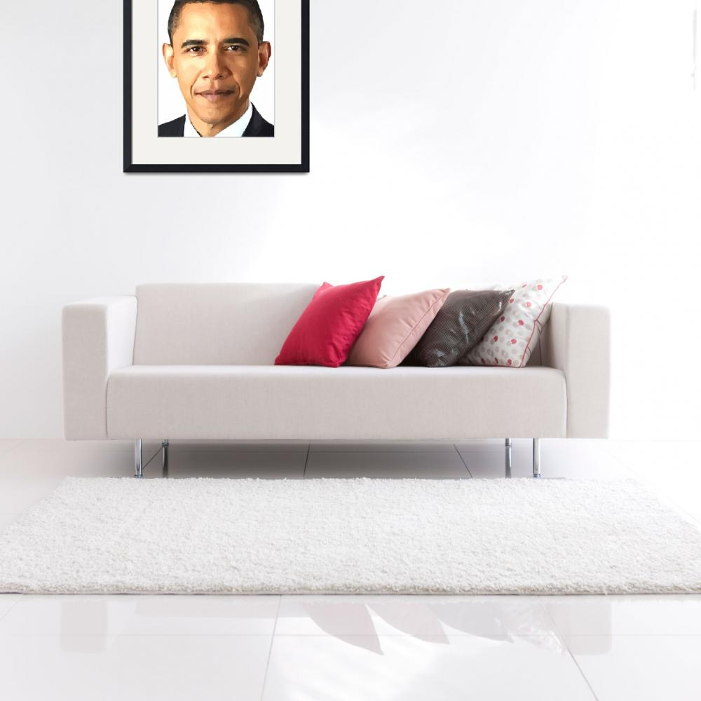 """Barack Obama&quot  (2010) by Brian60"