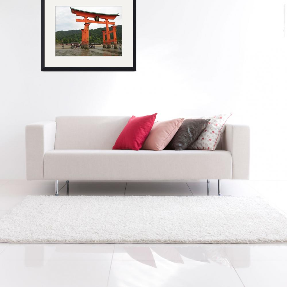 """Tori of Miyajima&quot  (2009) by bluejean"