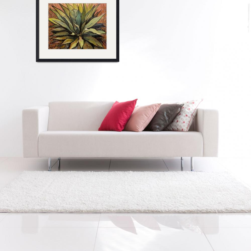 """Agave Warm&quot  (2008) by RICKKERSTEN"