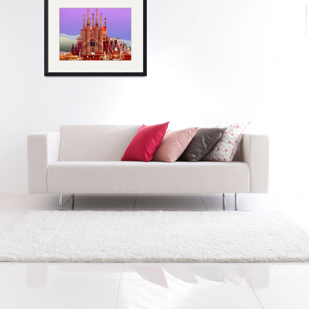 """Sagrada Familia&quot  (2013) by amira"
