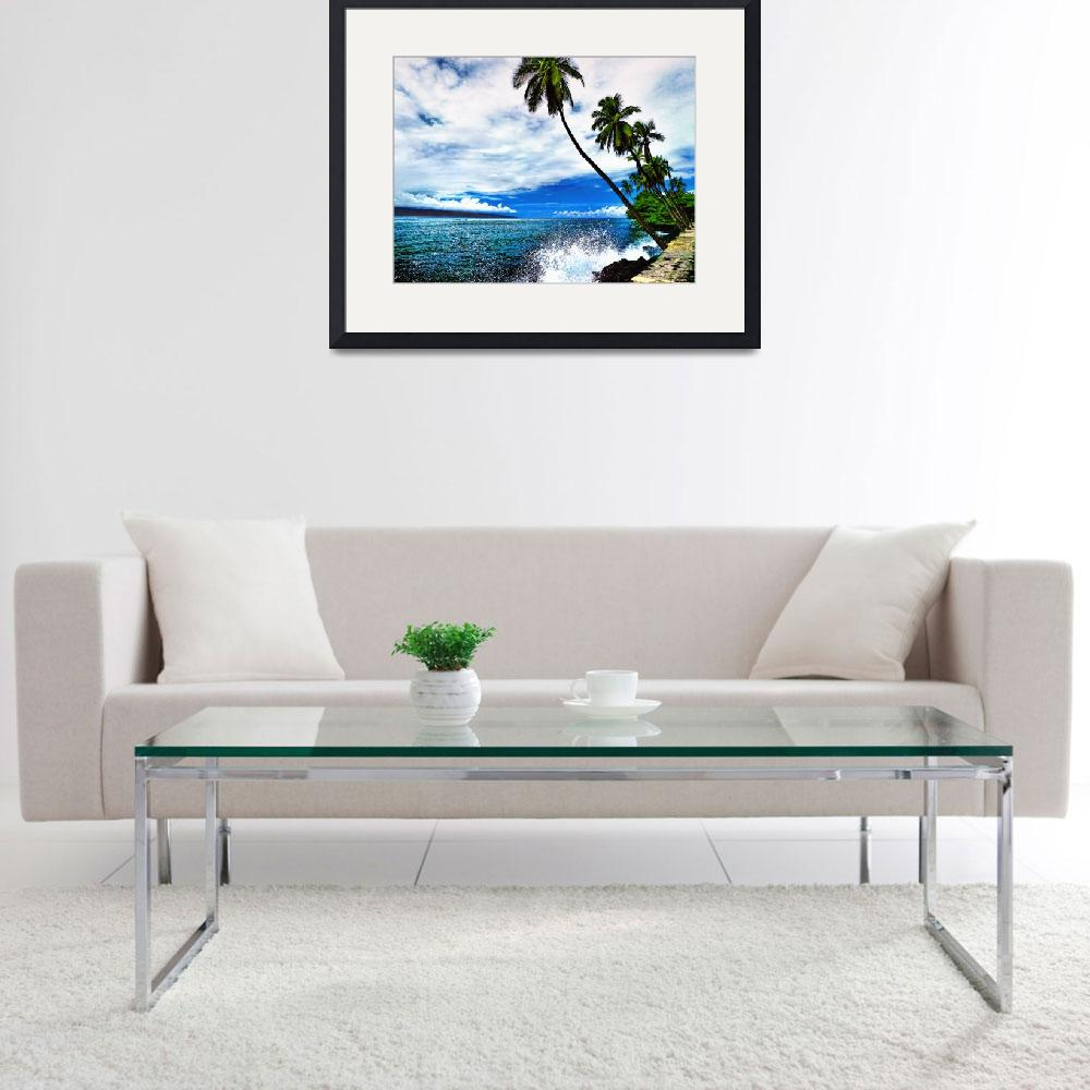 """Lahaina Ocean Spray&quot  (2010) by PadgettGallery"