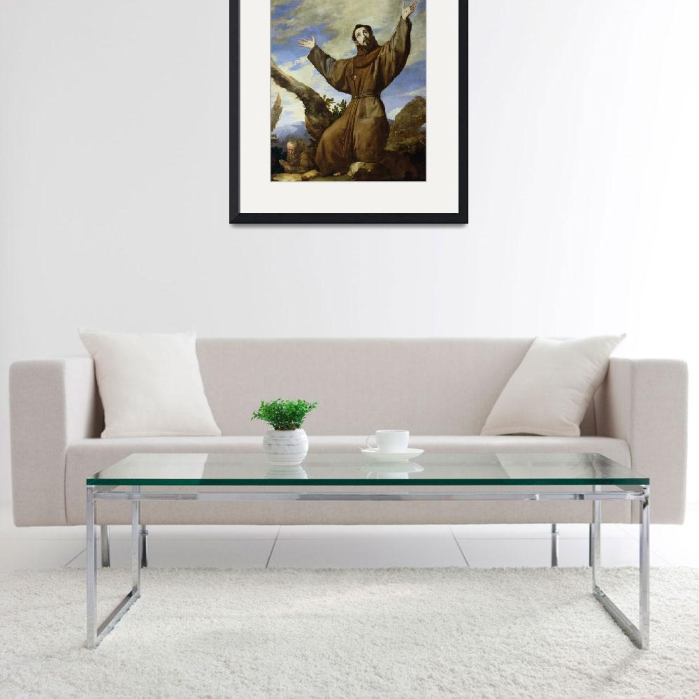 """St. Francis of Assisi&quot  by fineartmasters"