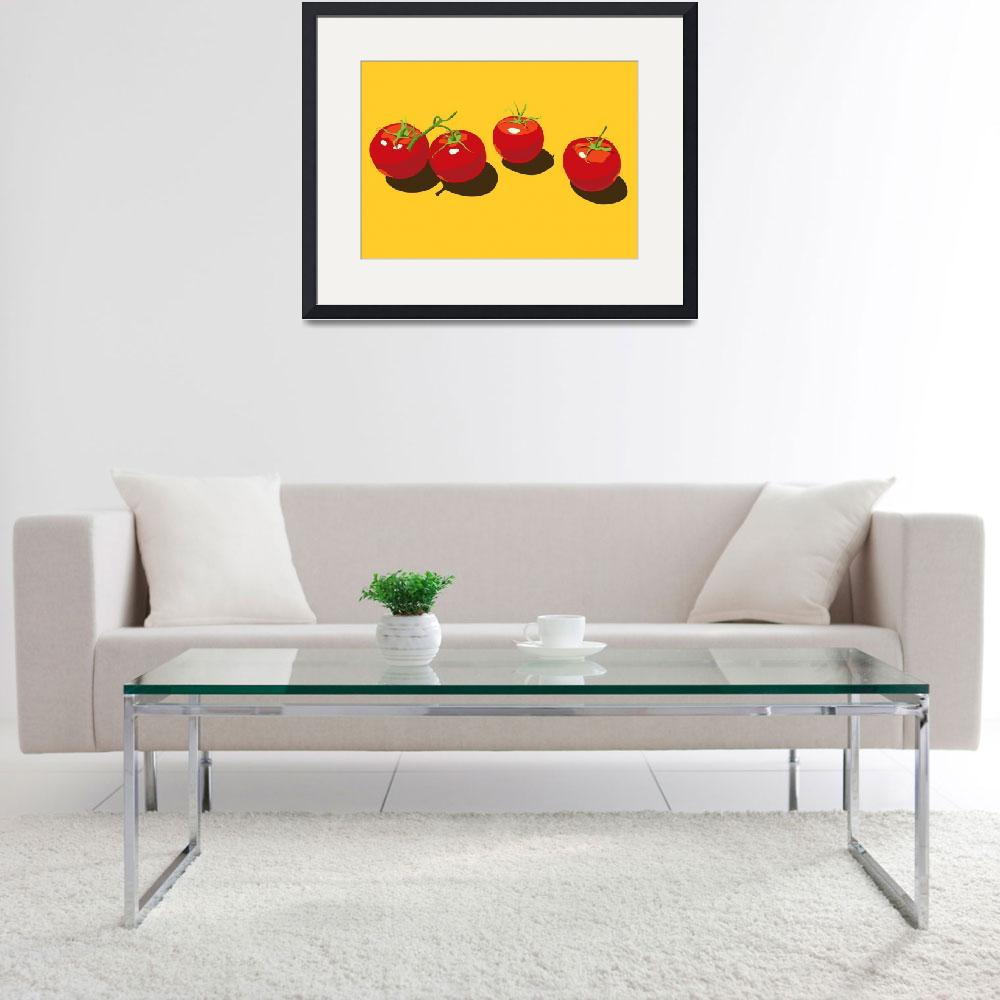 """FourTomatoes&quot  by CherylGraham"