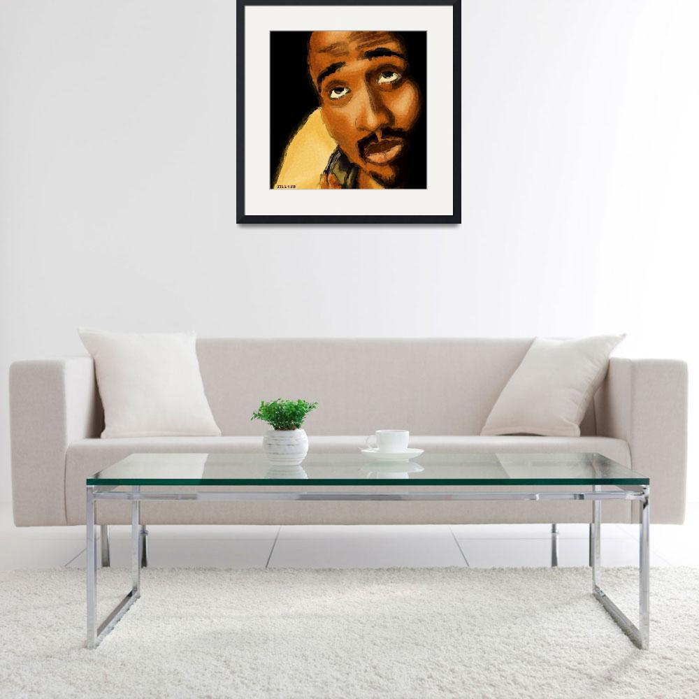 """2Pac&quot  (2009) by UKLady2"
