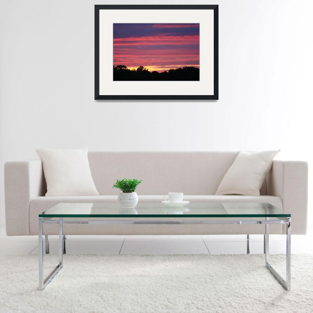 """Georgian Bay Sunset&quot  (2009) by gibbons"