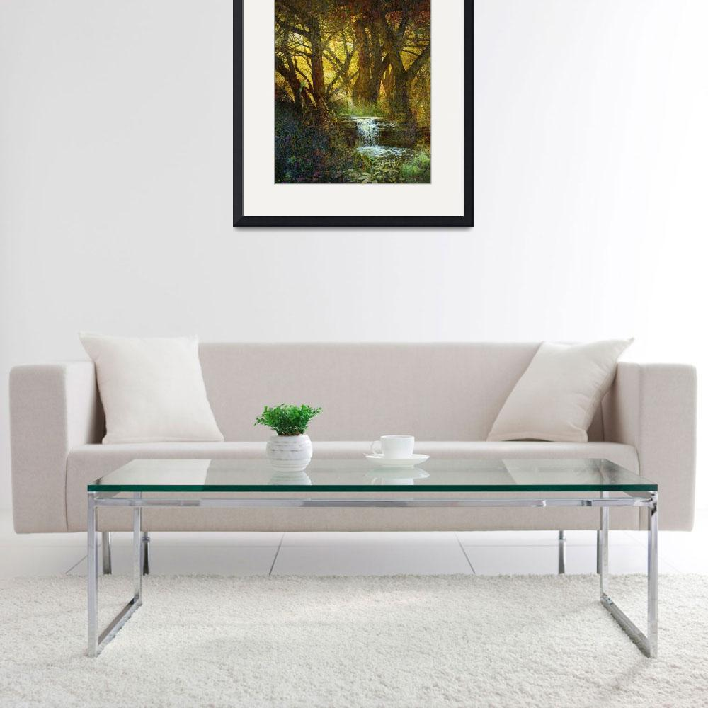 """lothlorien the golden forest&quot  (2015) by rchristophervest"