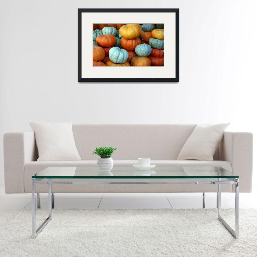 """Pumpkins in Pastel&quot  by tsgentuso"