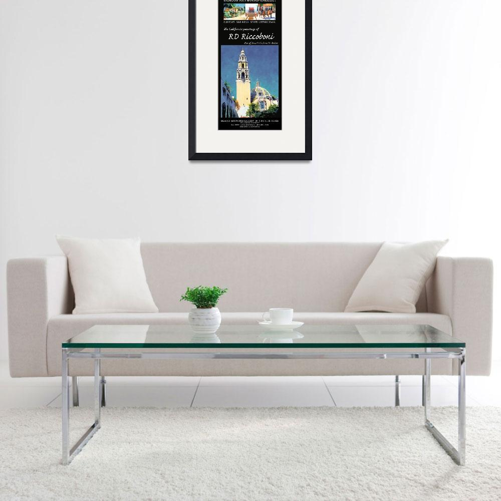 """Beacon Artworks Gallery Riccoboni Poster&quot  by RDRiccoboni"