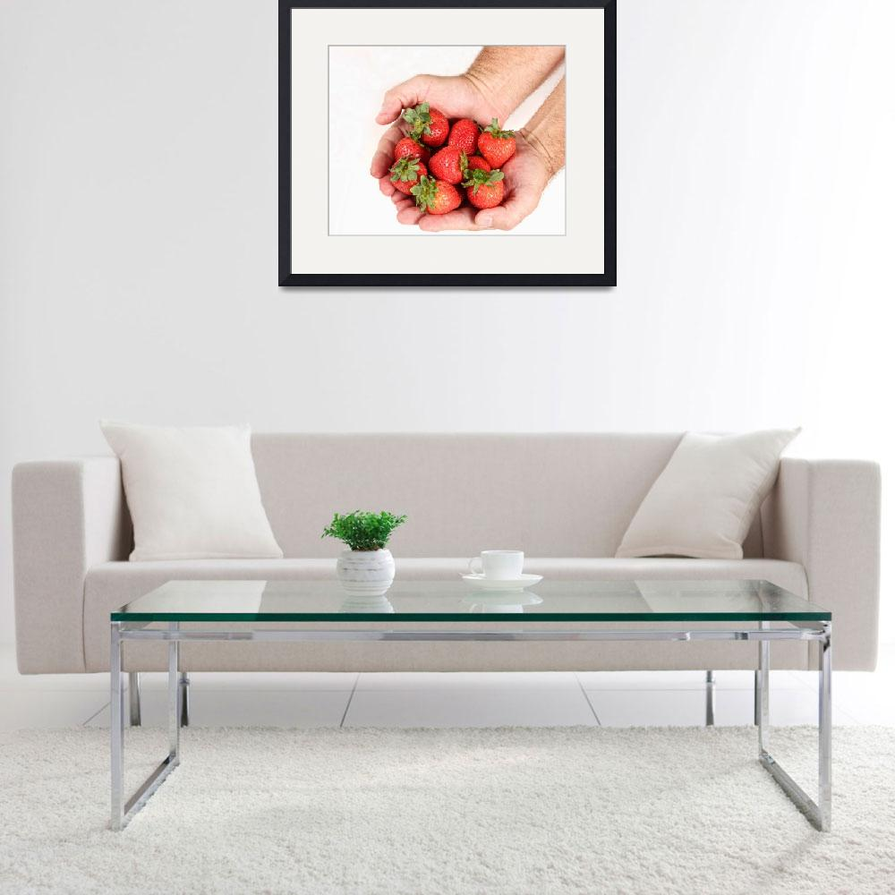 """Handful of Strawberries 2&quot  (2013) by lightningman"