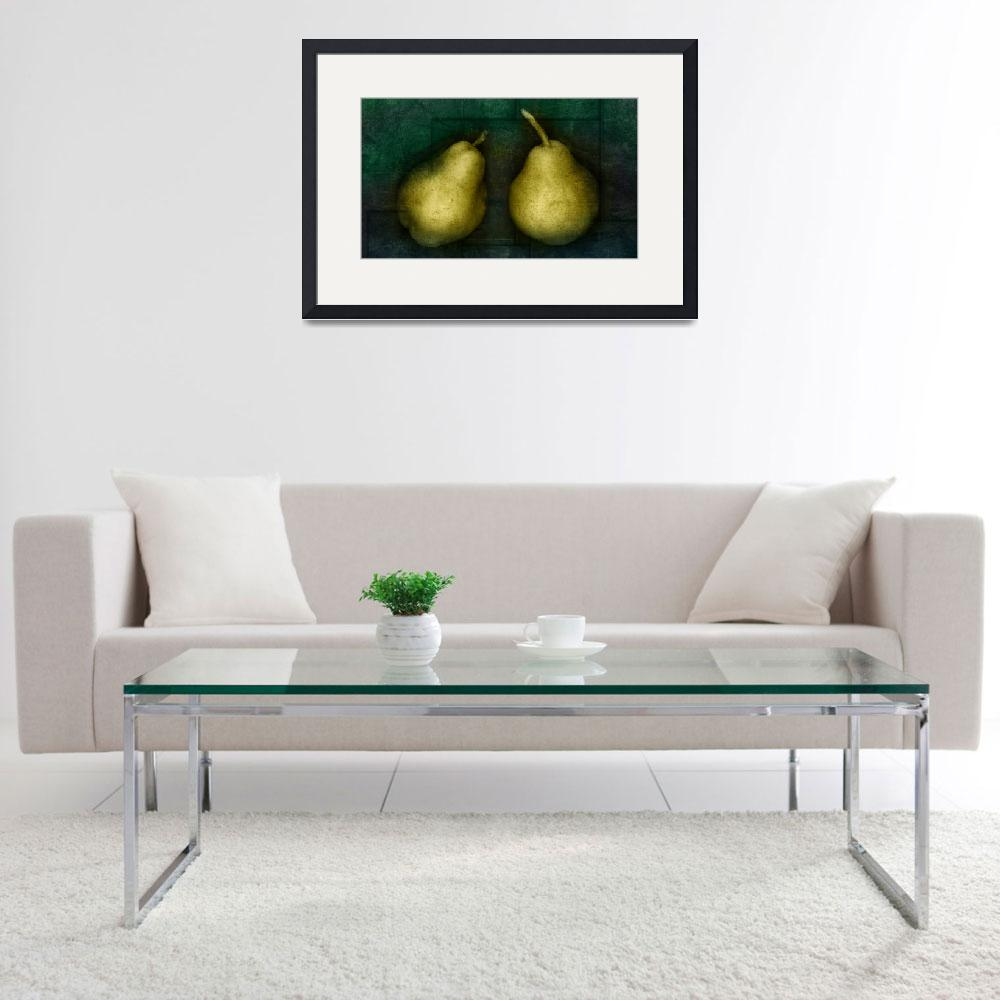 """Pears&quot  (2009) by cattanphoto"