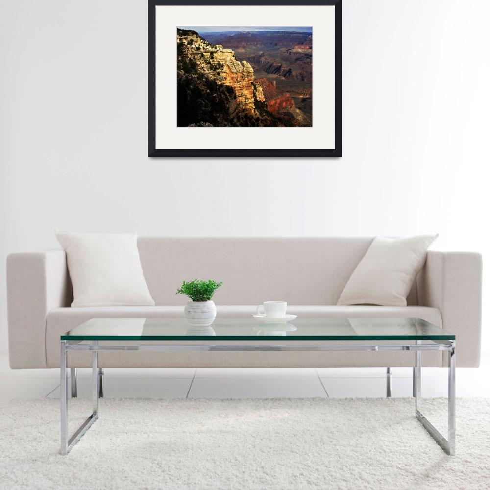 """Grand Canyon Vista No. 7&quot  (2008) by PadgettGallery"