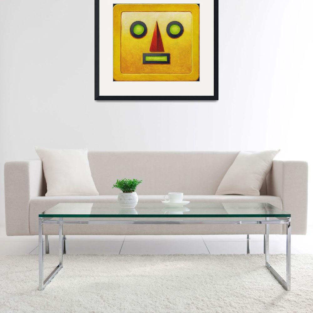 """Yellow Robot&quot  (2007) by MikeCressy"