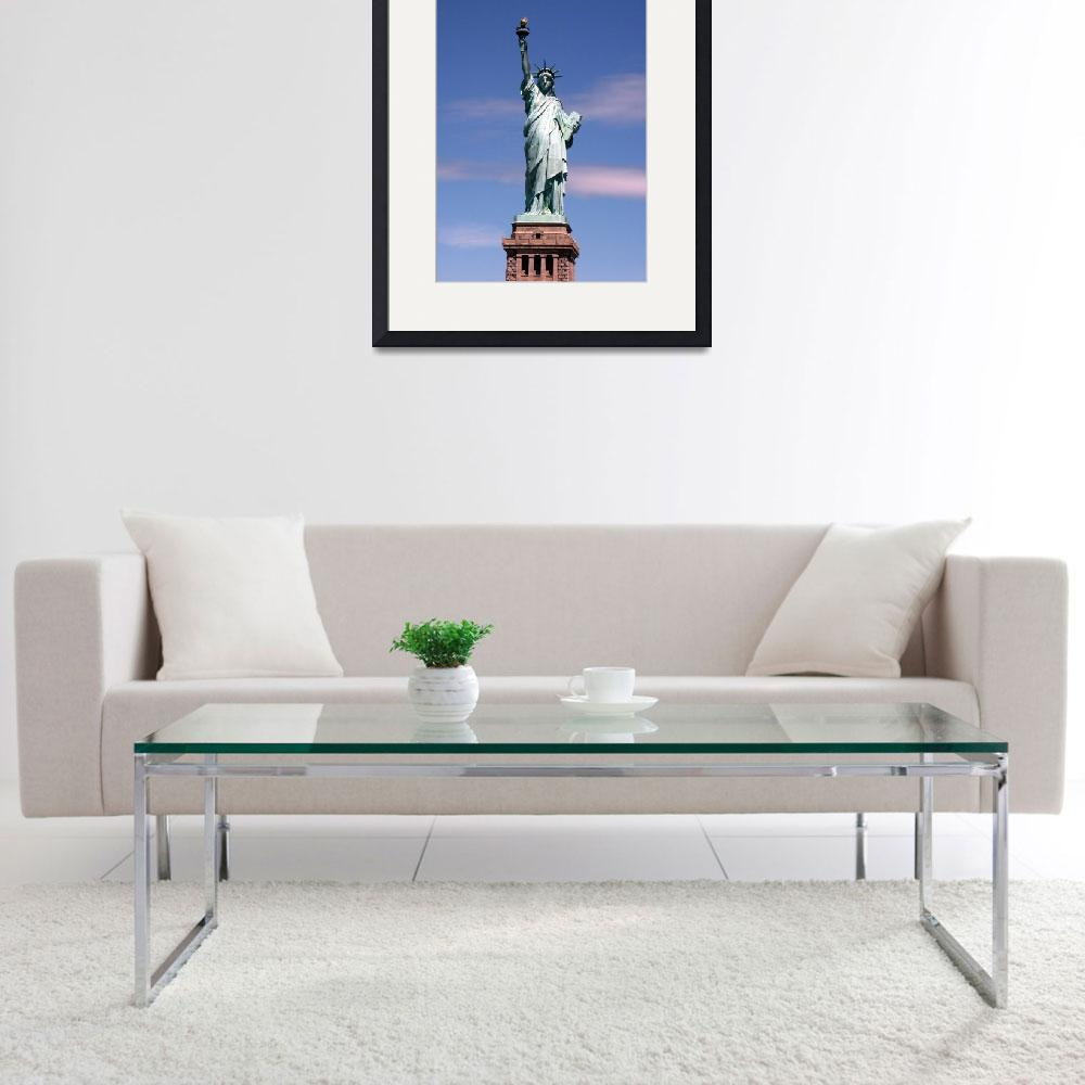"""Statue of liberty Photograph&quot  by Alleycatshirts"