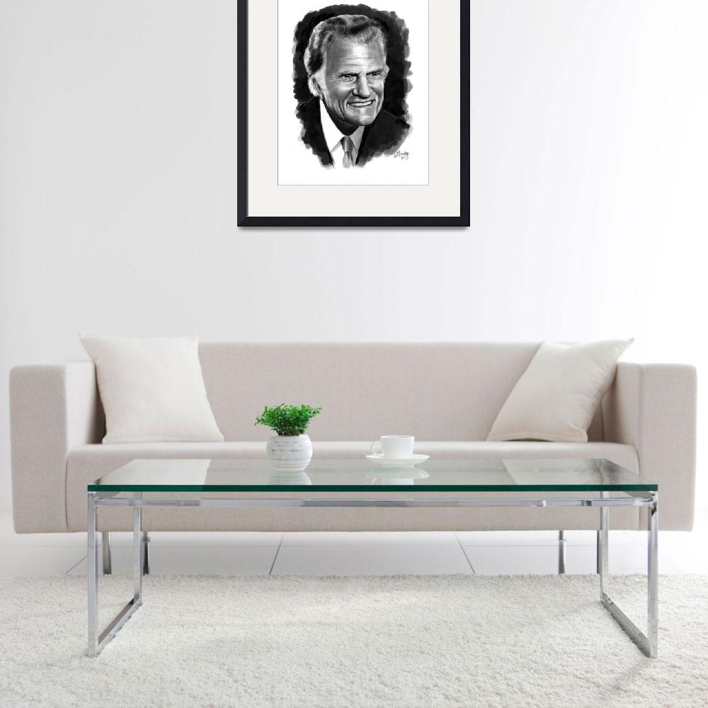 """Billy Graham&quot  by Tim"