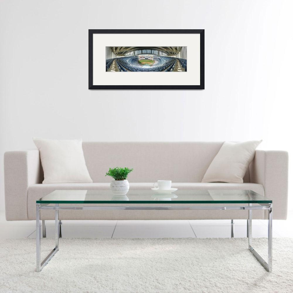 """Yankee Stadium Frieze Grandstand 420B Last Row&quot  by augiespanoramas"