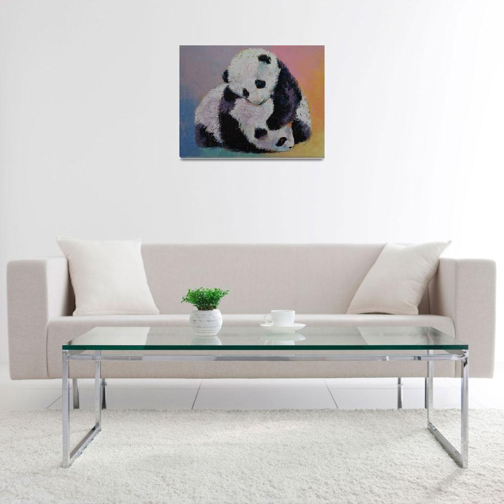"""Baby Panda Rumble&quot  by creese"