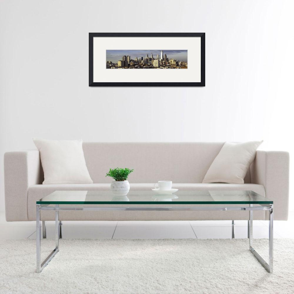 """2009 Philadelphia Skyline - This image is HUGE!&quot  (2009) by Philadelphia_photographer"