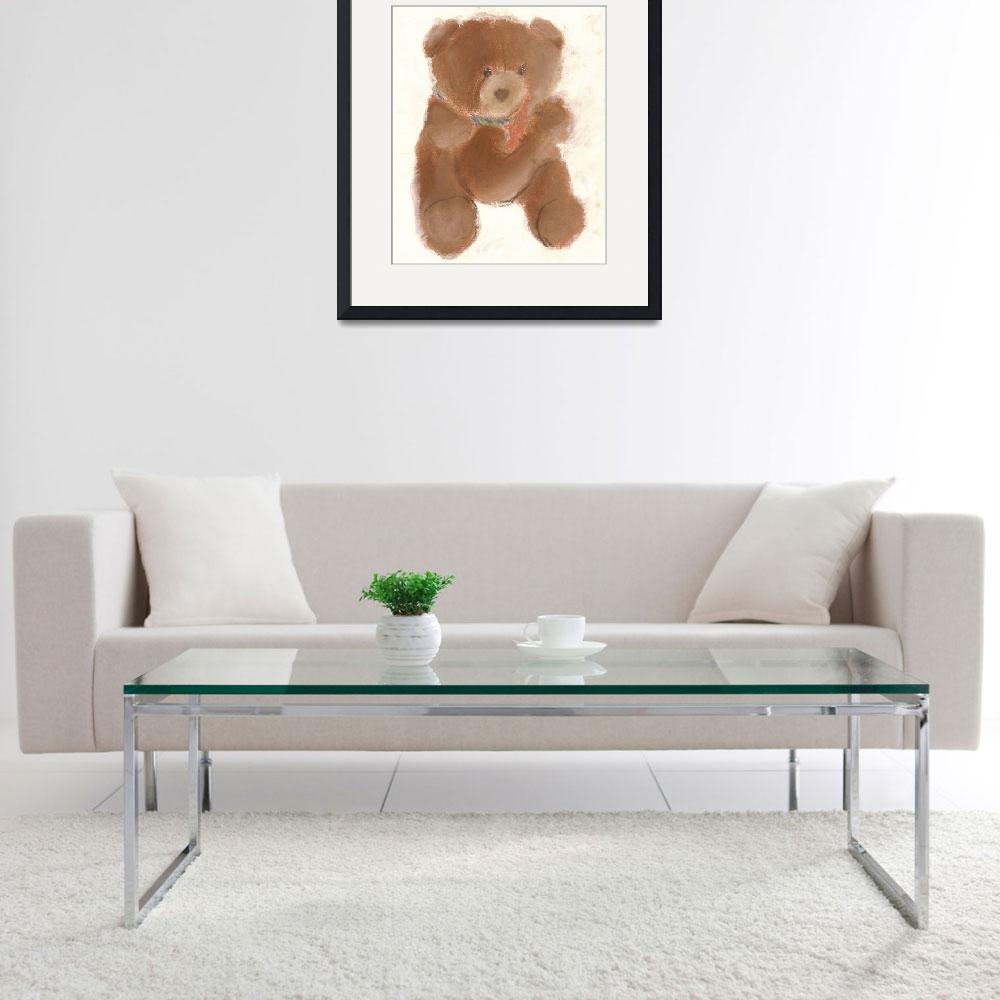 """Tony Bear&quot  (1996) by RoseanneCarter"