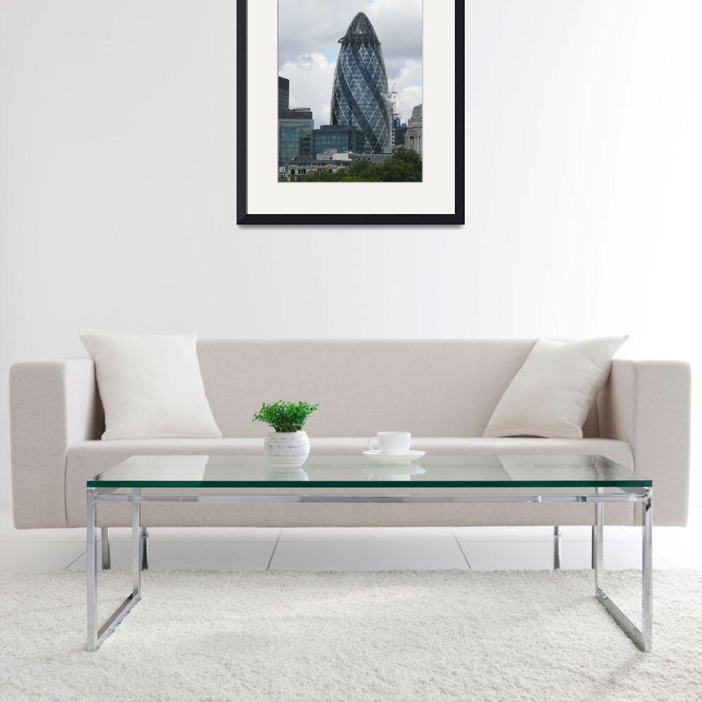 """The Gherkin&quot  (2009) by ValeriesGallery"