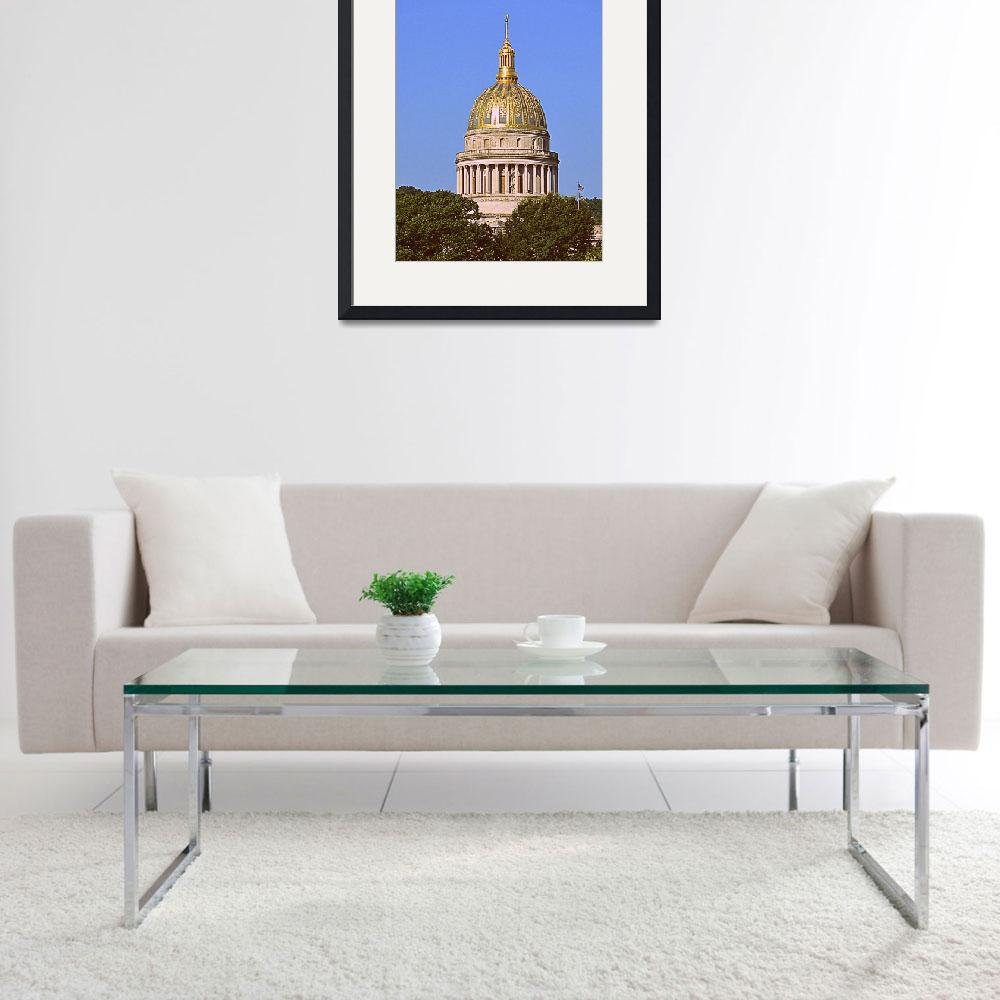"""Charleston WV Capital Dome&quot  by Artsart"