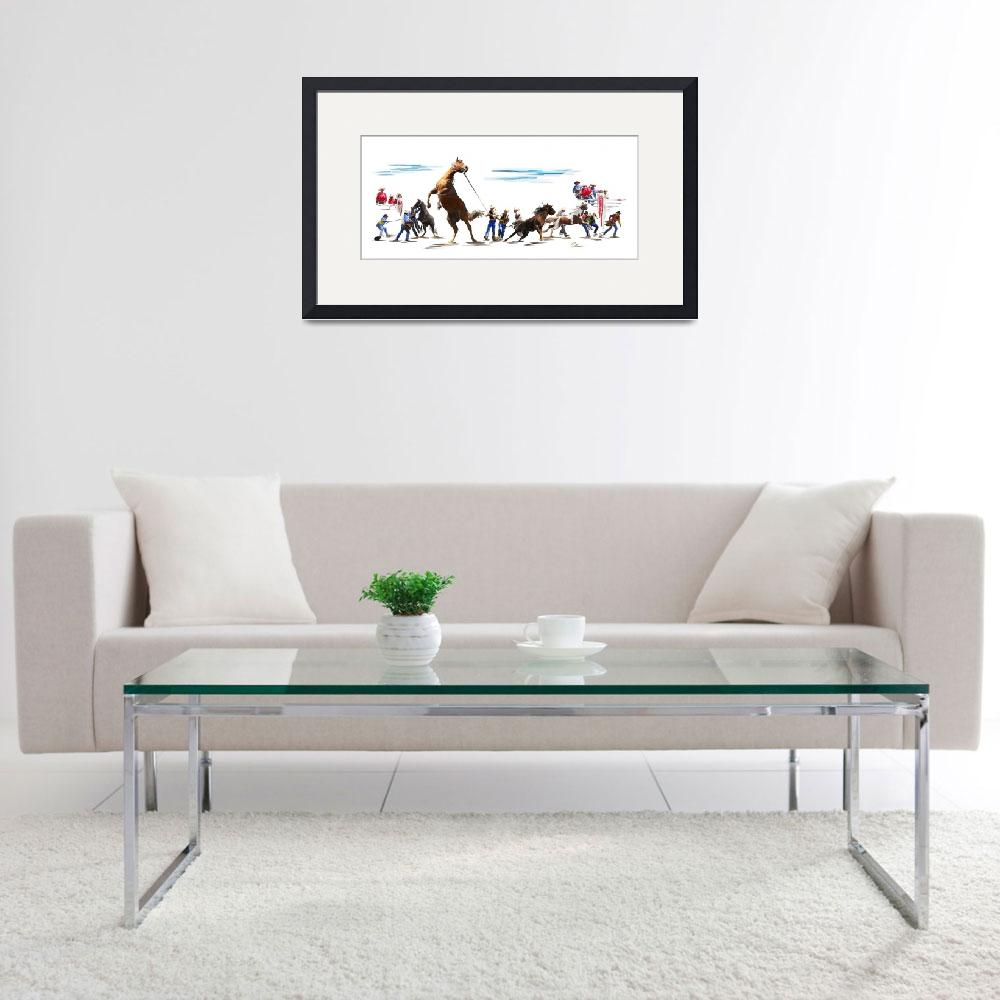 """Wild Horse Race&quot  (2007) by ArtbyDesign"