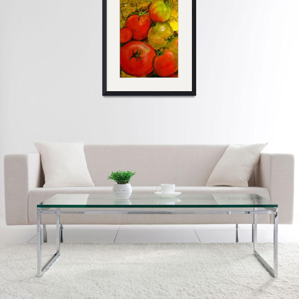 """tomatoes&quot  (2008) by artistejbeach"