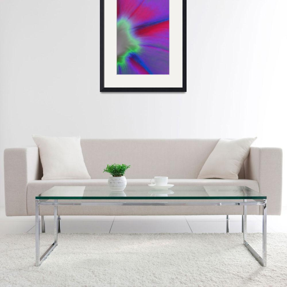 """Morning Glory Abstract No2&quot  (2009) by evansonart"
