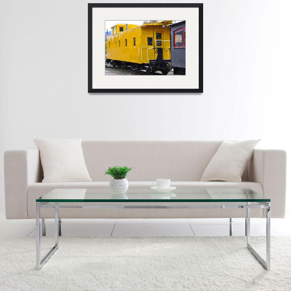 """The Yellow Train&quot  (2013) by Kirtdtisdale"